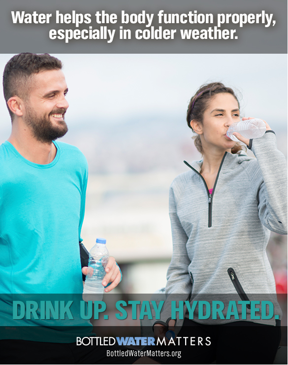Bottled Water Hydrate In Colder Weather 2015 FINAL, Bottled Water   IBWA   Bottled Water